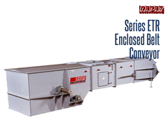 Designed for extreme environments, the Series ETR is fully protected from the elements due to its fully enclosed frame, which also provides dust emission reduction.