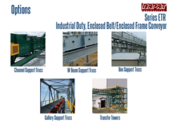 Series ETR Options include tail discharge transitions and other features