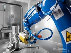 The GP8 robot improves productivity with high speeds