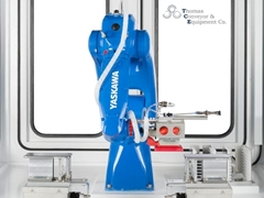 Robot with wide reach increases work efficiency